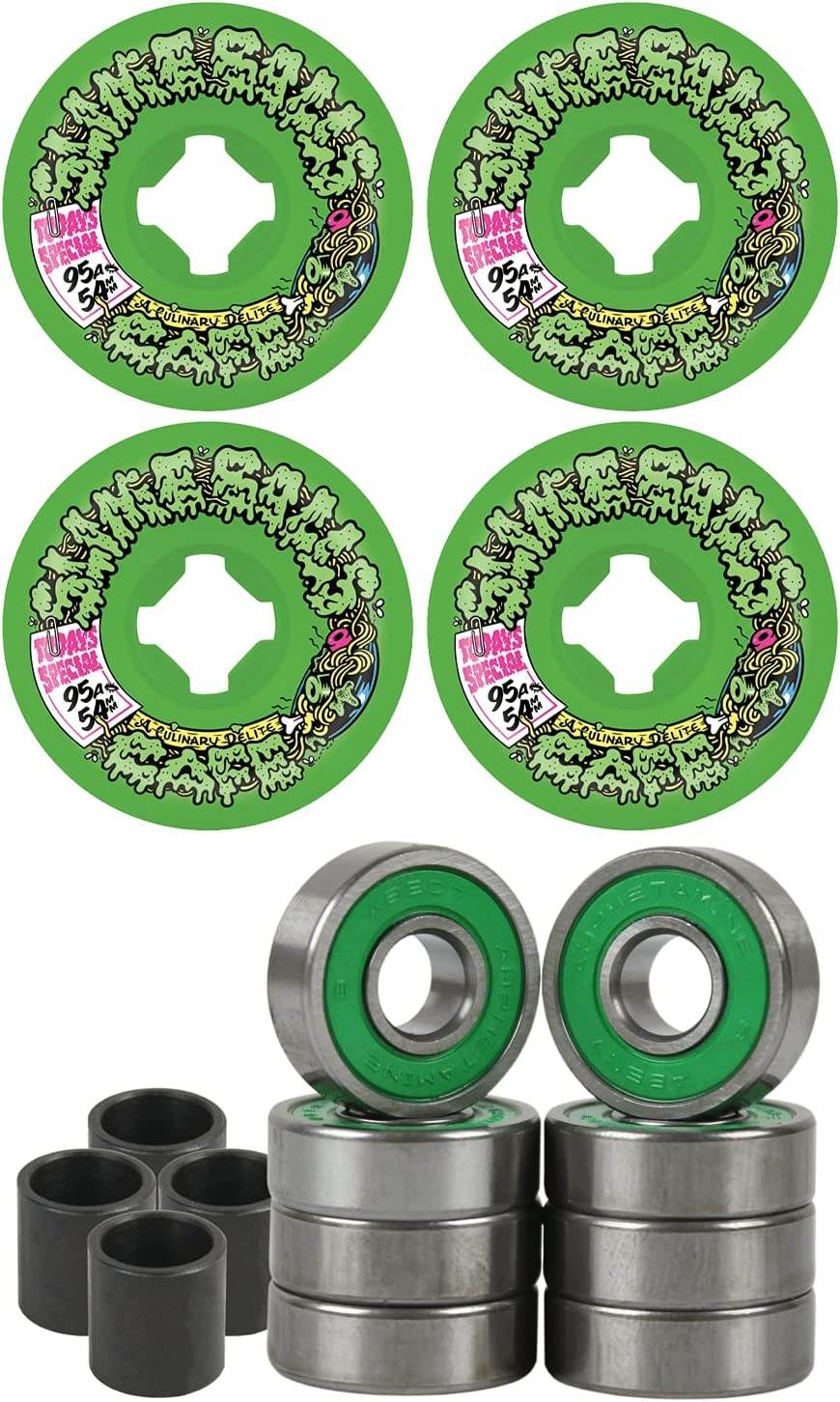 Slime Balls Skateboard Wheels Limited Special Price 54mm Double with Take A Austin Mall Vomit Mini