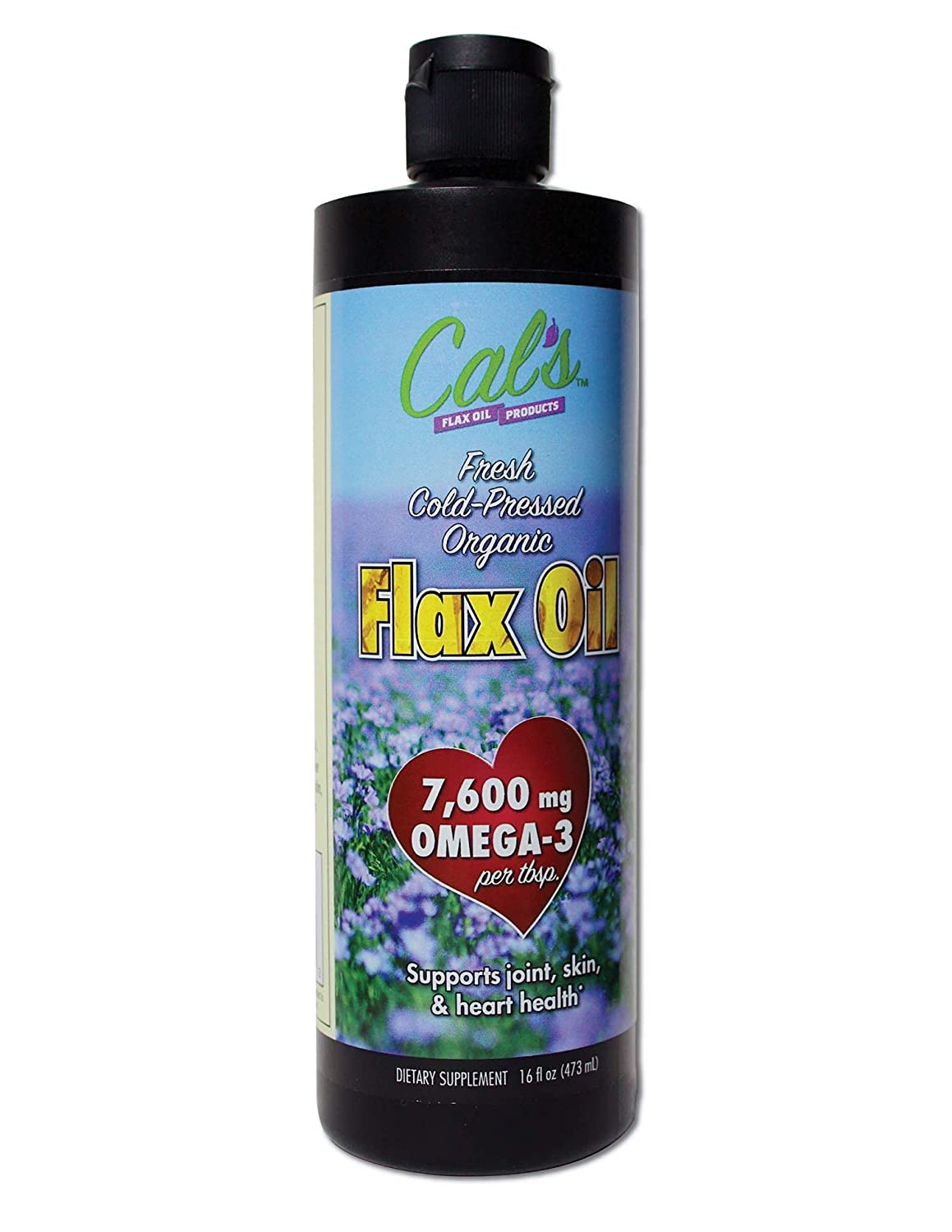 Cheap SALE Start Cal's Flax Oil Organic Pure Essential Unrefined F Cold-Pressed Mail order