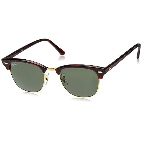 cd3cd9ba39b6 Ray-Ban RB3016 Clubmaster Sunglasses 51mm