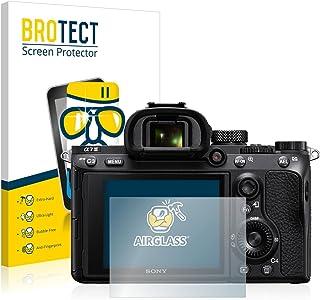 BROTECT Protector Pantalla Cristal Compatible con Sony Alpha 7 III Protector Pantalla Vidrio Dureza 9H AirGlass