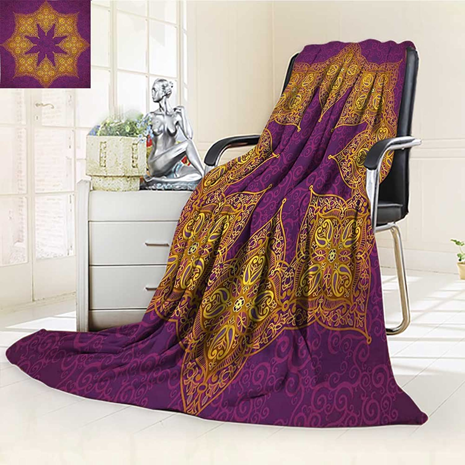 AmaPark Digital Printing Blanket Royal colors Cosmos Symbol Themeations purple Summer Quilt Comforter