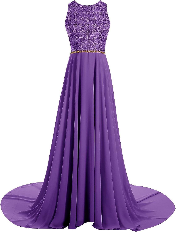 Gardenwed Long Beaded Lace Prom Dress Key Hole Back Prom Dresses Long Party Dress