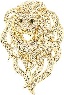 Best lion head brooch Reviews