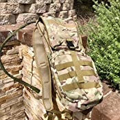 NewDoar Tactical Hydration Pack Backpacks with 3.0L Bladder for Hiking Running Biking Walking and Climbing