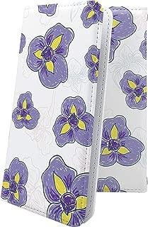 X02HT ケース 手帳型 パンジー 花柄 花 フラワー エックスエイチティー 手帳型ケース 和柄 和風 日本 japan 和 x01 ht おしゃれ
