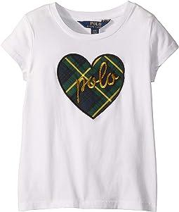 Polo Heart Graphic T-Shirt (Little Kids)