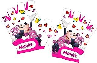 comprar comparacion Disney Minnie Mouse - Guantes de Ciclismo para niña, Color Blanco, Talla XS