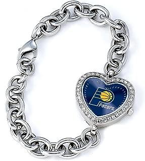 Game Time Women's Heart Watch Series NASCAR