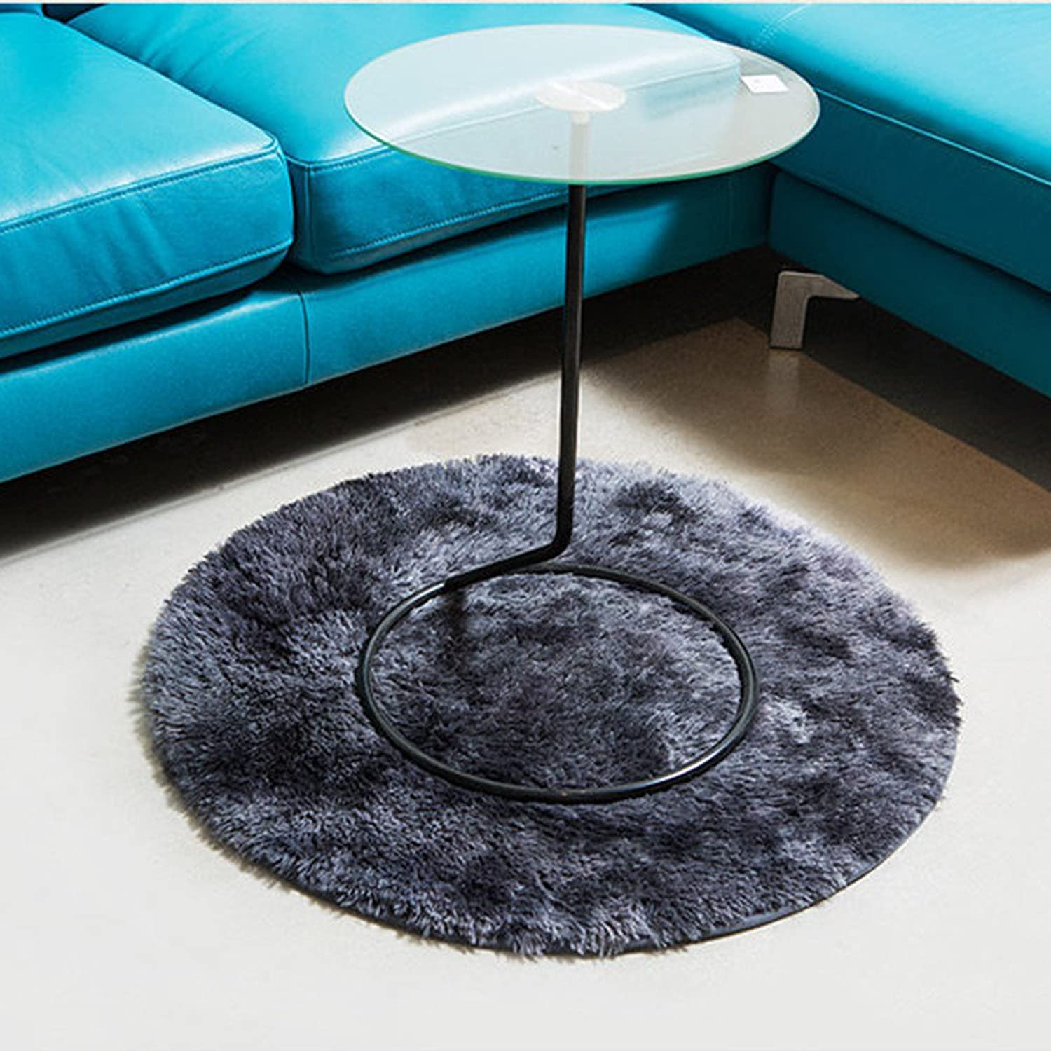 CLG-FLY The door mat bedroom living room bathroom antiskid thick absorbent mats,Round 90,with Beste service