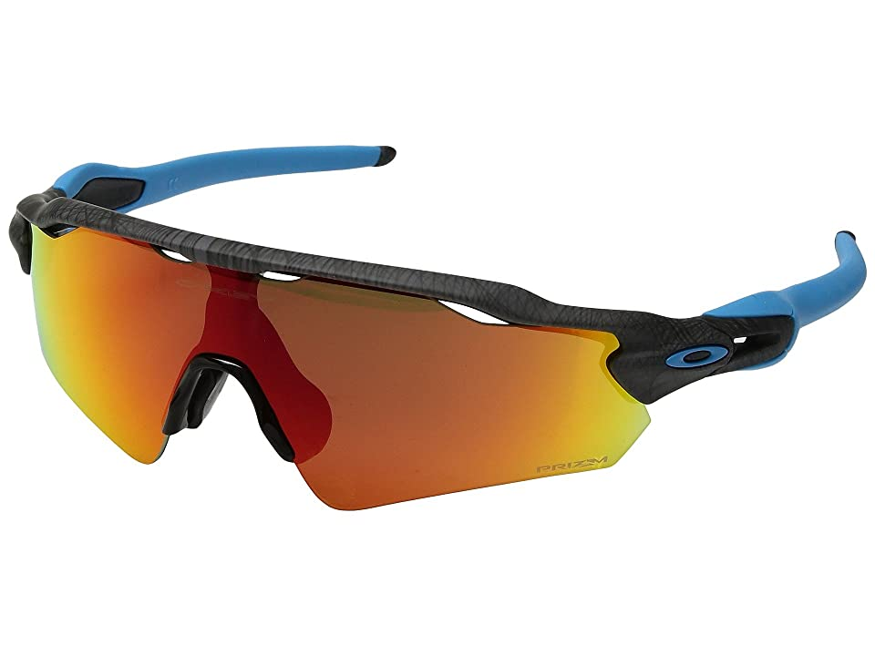 Oakley Radar EV Asian (Aero Grid Grey w/ Prizm Ruby) Sport Sunglasses