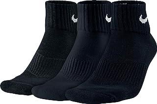 comprar comparacion Nike 3PPK Cushion Quarter, Calcetines unisex, paquete de 3 unidades