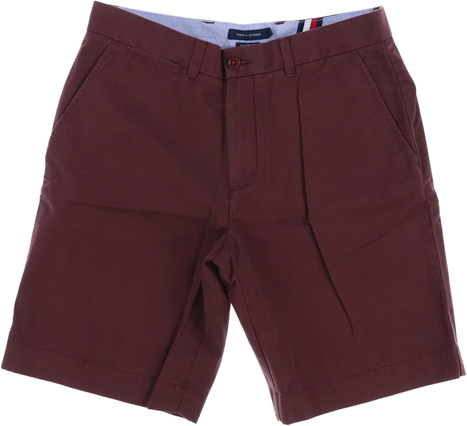 Tommy Hilfiger Quality inspection Milwaukee Mall Mens Flat Academy Shorts Front