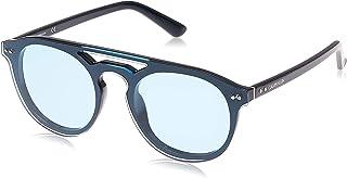 Calvin Klein Unisex Sunglasses Round Ck American Heritage Light Blue