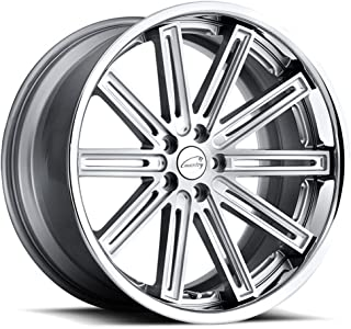 Coventry WARWICK Silver Wheel with Painted Finish (21 x 9. inches /5 x 108 mm, 35 mm Offset)