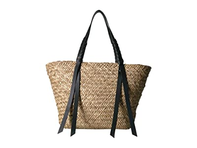 AllSaints Playa East/West Beach Tote (Natural) Handbags
