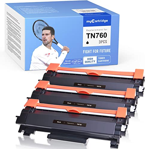high quality MYCARTRIDGE lowest Compatible Toner Cartridge Replacement for TN760 TN730 Work with Brother DCP L2550dw HL-L2370DWXL HL-l2390DW HL-L2350DW HL-L2395DW MFC-l2710DW MFC-l2750DW HL-L2370dw (3 2021 Black) sale