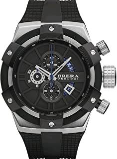 Brera Orologi: Supersportivo in Stainless Steel and Black BRSSC4901