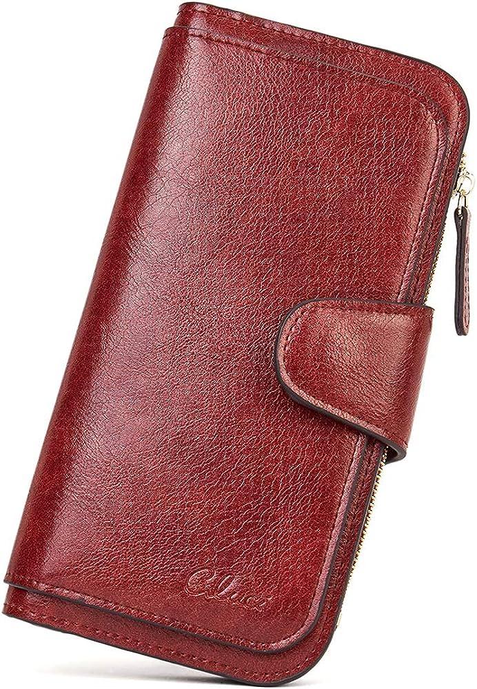 Cluci portafoglio da donna porta carte di credito in pelle sintetica 2711345031