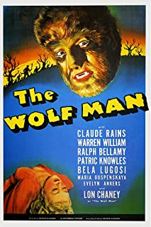 American Gift Services - The Wolf Man Bela Lugosi Vintage Horror Movie Poster - 24x36