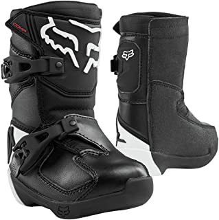 Fox Racing 2020 Peewee Comp Boots (12) (Black)