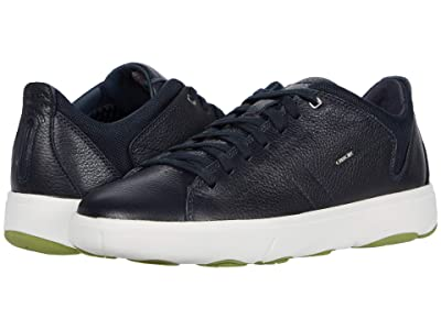 Geox Nebula Y (Navy Tumbled Leather) Men