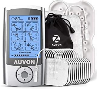 120b212e4e AUVON Rechargeable TENS Unit Muscle Stimulator