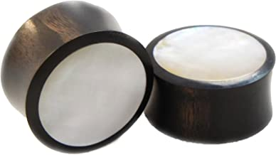 Best mother of pearl plugs Reviews