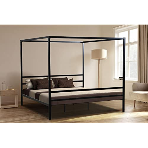 King Canopy Bed Amazon Com
