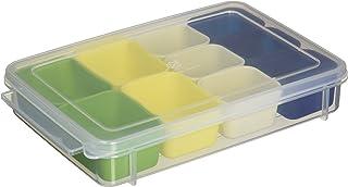 ヨシカワ 栗原はるみ 弁当箱 お弁当小分け容器 小 10個セット グリーン・イエロー・ホワイト・ネイビー HK10657