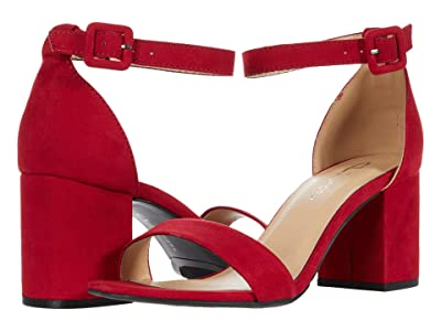 CL By Laundry Jody (Ruby Red Super Suede) Women