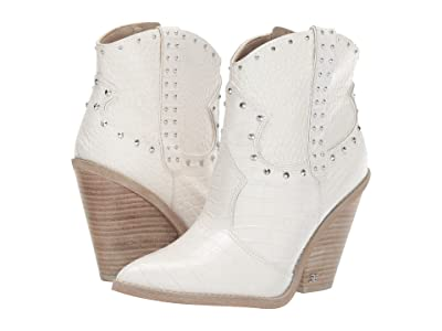 Sam Edelman Iris 2 (Bright White Kenya Croco Embossed Leather) Women