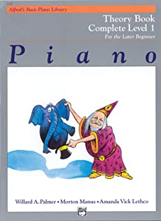 Alfred'S Basic Piano Library Theory 1 Complete