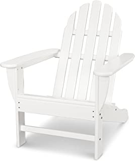 POLYWOOD AD4030WH Classic Outdoor Adirondack Chair, White