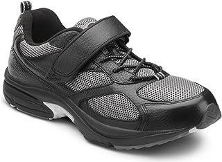 Dr. Comfort Men's Endurance Black Diabetic Athletic Shoes