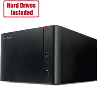 BUFFALO TeraStation 1400D Desktop 4 TB NAS with Hard Drives Included