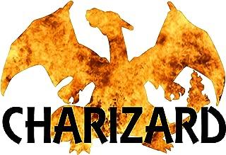 Charizard Elemental Print - Pokemon Themed Poster