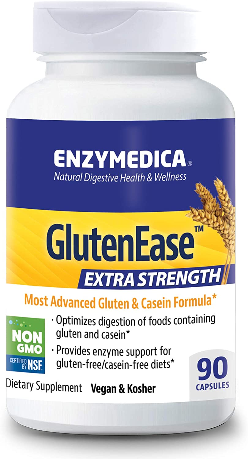 Enzymedica GlutenEase Special price for a limited time Under blast sales Extra Strength Digestive Aid Gluten