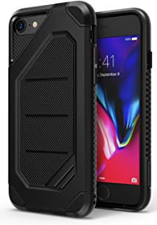 Ringke Max Designed for iPhone 7 Case, iPhone 8 Case Heavy Armor Strength Resistant Protective Phone Cover - SF Black