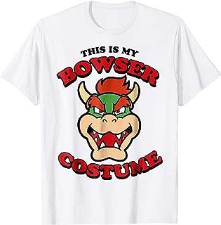 Nintendo Super Mario Bowser Costume Graphic T-Shirt