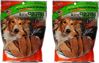 product image for Carolina Prime - Chicken Breast & Sweet Tater Fillets (1lb.) - Naturally Nutricious Dog Treats