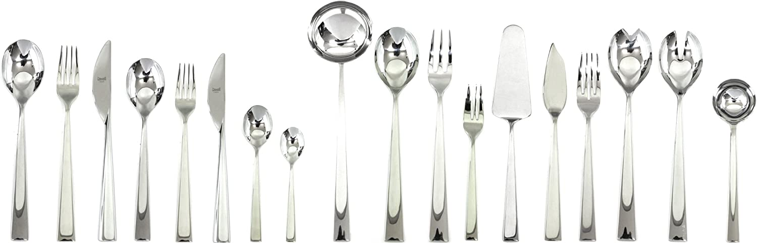 Mepra 103722005 Immagina 5 Piece Place Setting, Stainless Steel