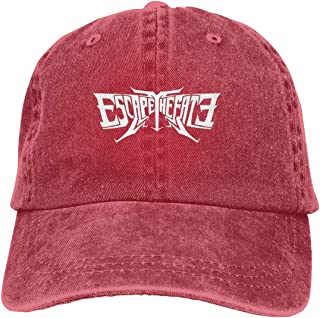 Escape The Fate Logo Unisex Baseball-Cap Adjustable Dad-Hat Red