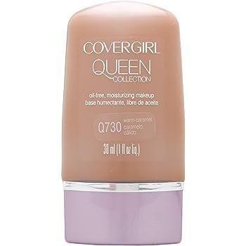 COVERGIRL Queen Natural Hue Liquid Makeup Warm Caramel 730, 1 oz (packaging may vary)