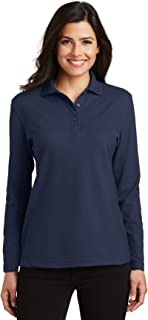 long sleeve polo womens