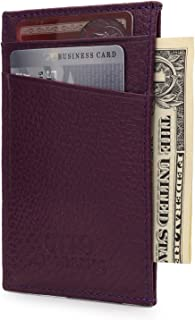 Genuine Leather Wallet - Bank Cards, Money, Driver's License - Unisex