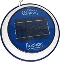 Floatron Solar Powered Pool Cleaner, Natural Mineral Copper Ionizer