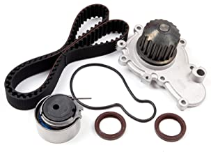 OCPTY Timing Belt Kit Including Timing Belt Water Pump with Gasket tensioner Bearing etc, Compatible for 2000 Chrysler Cirrus/1995 1996 1997 1998 1999 2000 2001 2002 2003 2004 2005 Dodge Neon