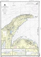 NOAA Chart 14964: Big Bay Point to Redridge;Grand Traverse Bay Harbor;Lac La Belle harbor;Copper and Eagle Harbors