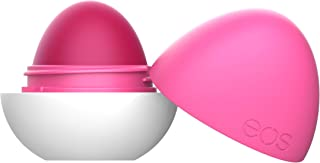 eos Shea + Shade Tinted Lip Balm Sphere - Make Mine Magenta | Awesome Buildable Color | 24-Hour Hydration | 0.25 oz