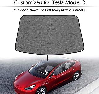 Dmwfaker per Tesla Model 3 Parasole per Auto Parasole Parasole///Lucernario per Auto Parasole per Tende Parasole per Parasole Parabrezza Parabrezza Anteriore